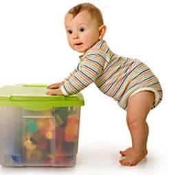 Séptimo mes del bebé. Desarrollo de los bebés