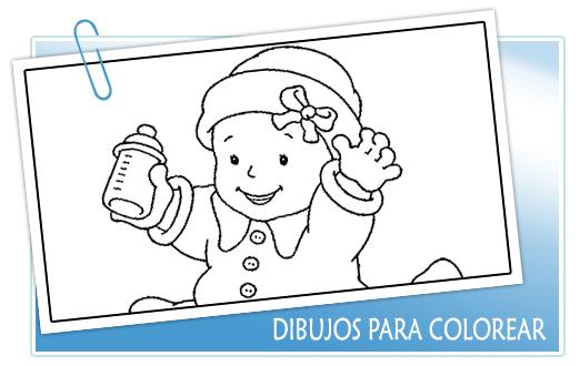 Dibujos para colorear. Dibujos infantiles para colorear y pintar