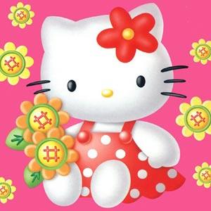 dibujos animados infantiles de hello kitty