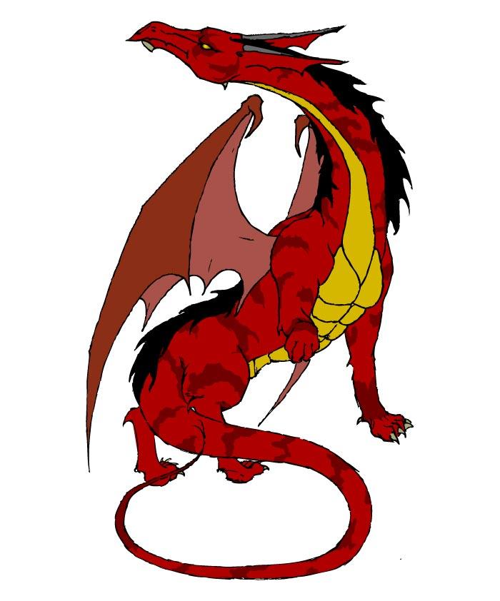 Dibujos de dragones buenos - Imagui