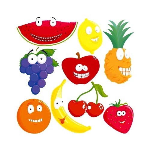 Las frutas en caricatura - Imagui
