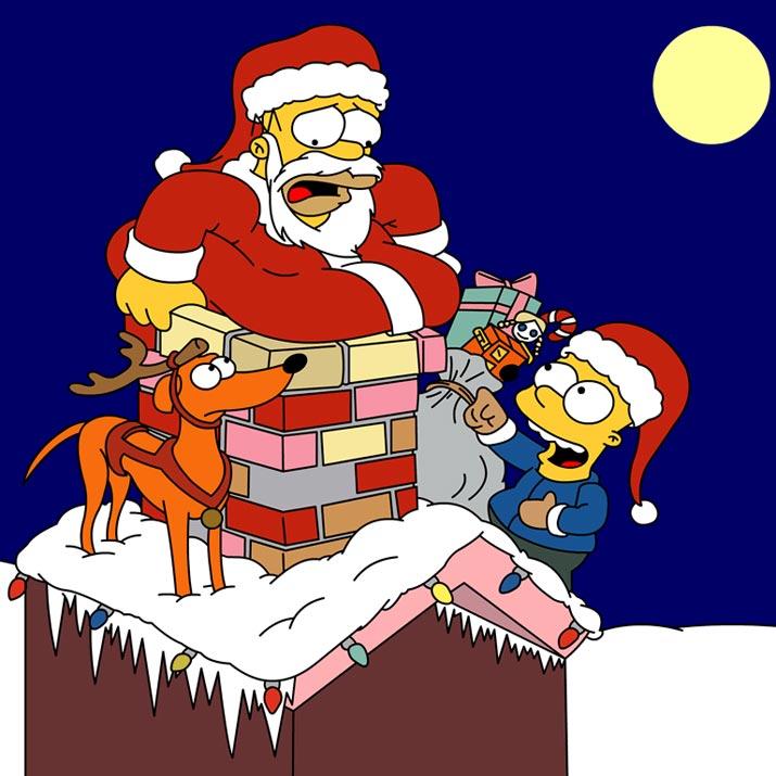Dibujos animados de navidad - Dibujos de navidad en color ...